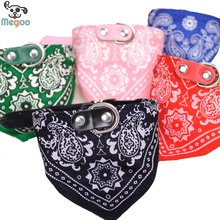 1Pc Lovely Pet font b Dog b font Scarf Collar Adjustable Puppy Bandana Quality Pet Cat