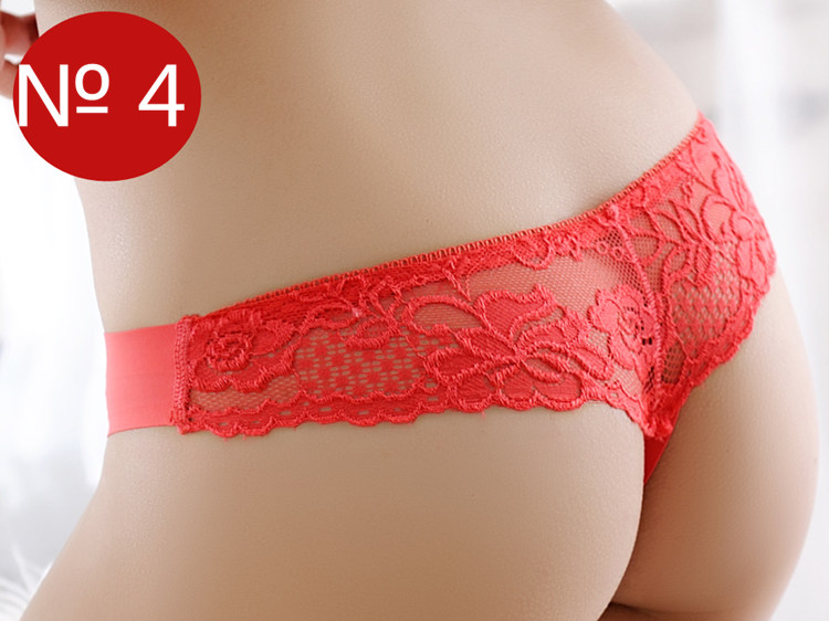 Seamless Underwear, Women's Panties, Thongs Panties, Female G String, Sexy Lace Underwear Lace Panties 7