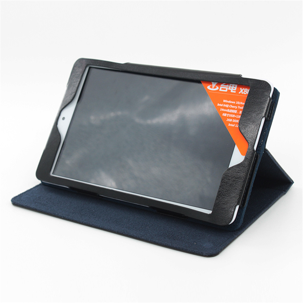 For Teclast x80 pro case PU Leather Case with Holder for Teclast X80 pro 8 inch
