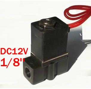 Gas Hot Sale 50-70% OFF Oil Water Trend Mark 1/8 Port Size 12v Normally Closed 2way Mini Pvc Plastic Solenoid Valve Nc Direct Acting Type 2p025-06 Air