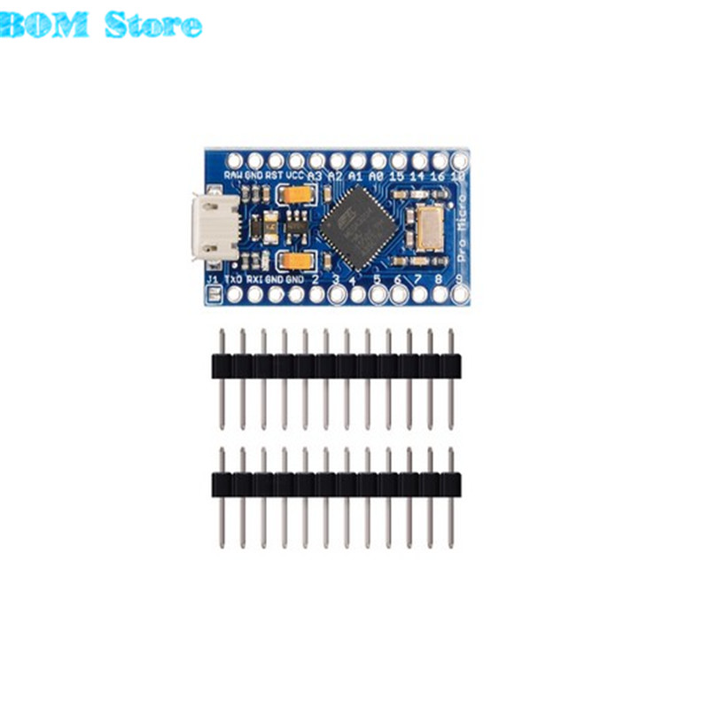 New Pro Micro for arduino ATmega32U4 5V/16MHz Module with 2