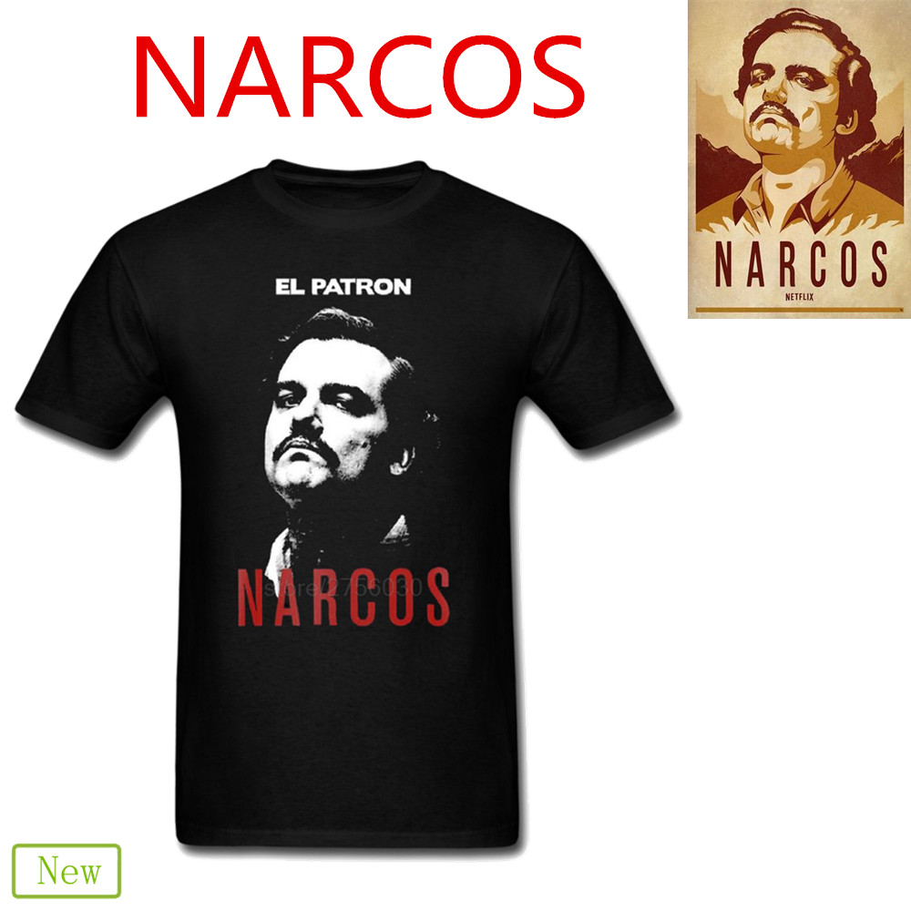 Narcos Godfather Pablo Escobar 3d t shirts Men Women tee 2018 flamengo Tshirts ajax tras ...