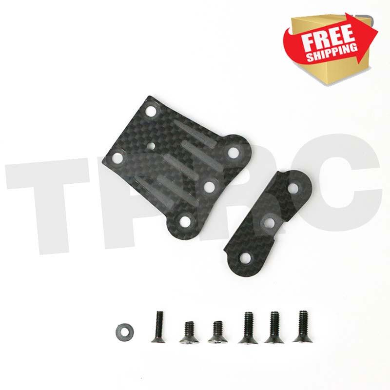 TEKNO углеродного волокна передний комплект квадратная Передняя Плита перекрытия рулевое крепление RC детали для усовершенствования автомоб