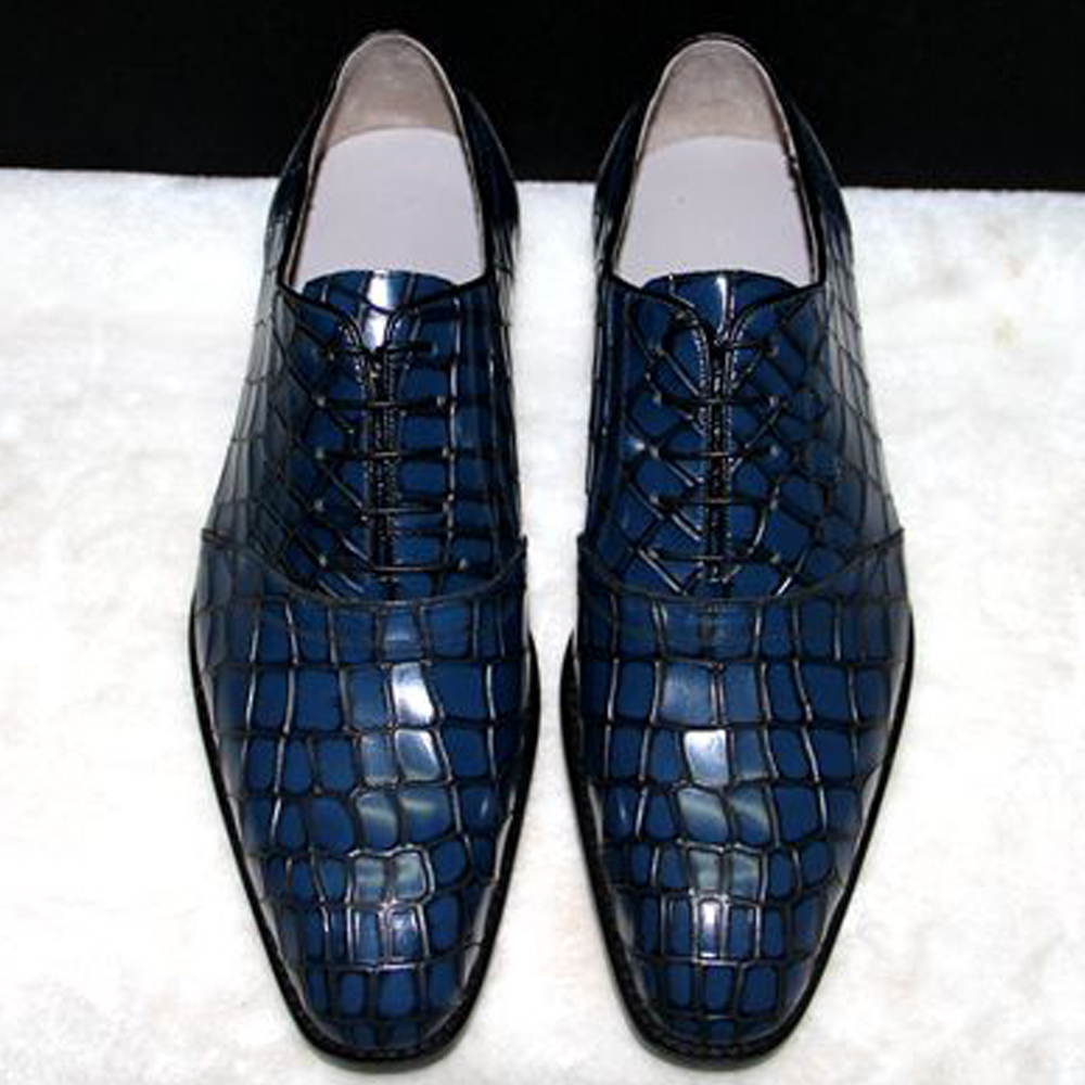 Luxury bespoke mens goodyear crocodile shoes mens navy brown tuxedo shoes burgundy mens oxfords shoes brown mens dress shoes