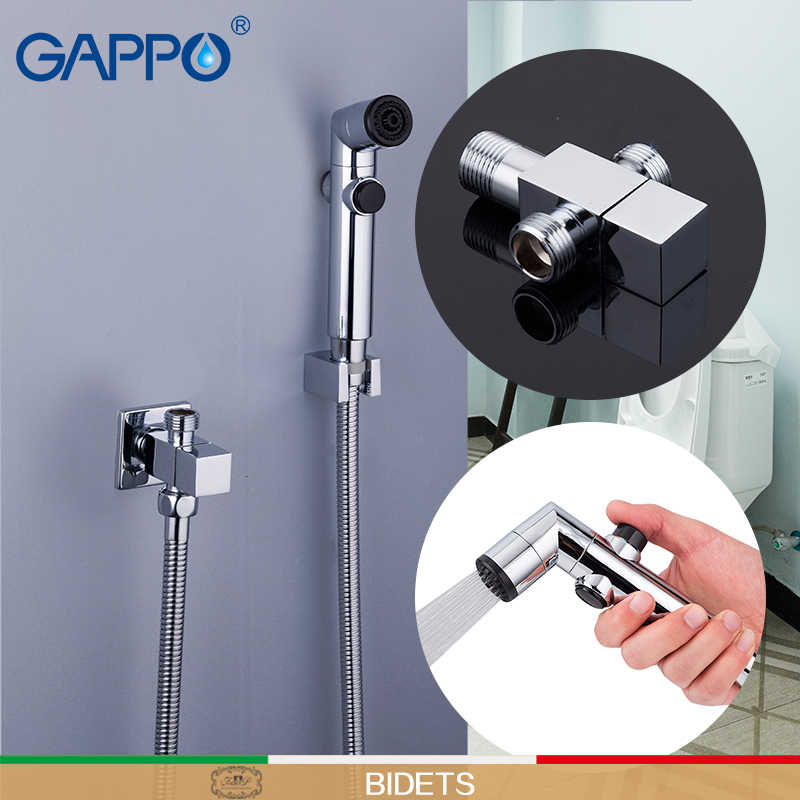 GAPPO Bidets toilet shower mixer  bidet facuet muslim shower bidet toilet sprayer wall mount ducha higienica bidet faucet