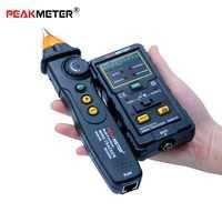 Multi-fonction fil Tracker disjoncteur Finders RJ45 RJ11 continuité ligne téléphonique DC niveau Test réseau câble testeur