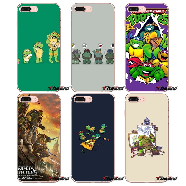 quite nice b6b61 b32c7 US $0.99 |Teenage Mutant Ninja Turtles Designer Case For Samsung Galaxy S2  S3 S4 S5 MINI S6 S7 edge S8 S9 Plus Note 2 3 4 5 8 Coque Fundas-in ...