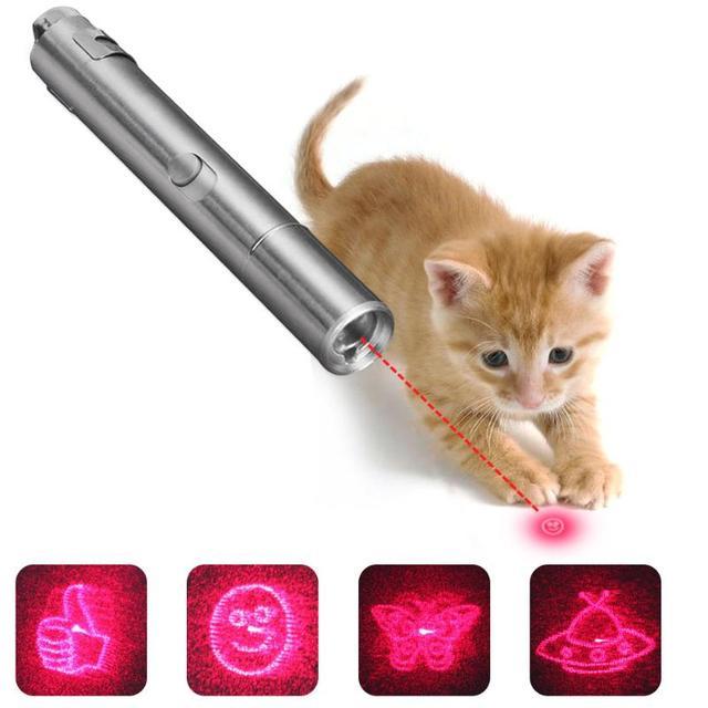 Mode Haustier Katze Spielzeug Flash Jump Ball Bouncy Licht Spielzeug ...