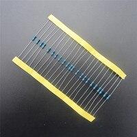 100pcs RoHS Lead Free Metal Film Resistor 1/4W Watts 47 ohm 1% Tolerance DIY KIT In Stock