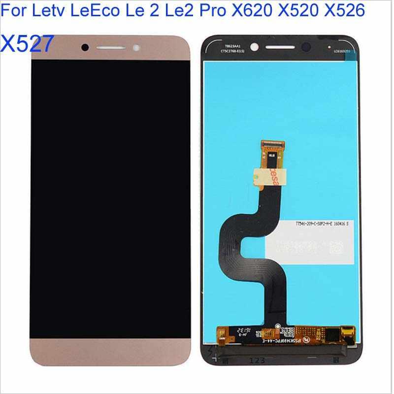 BAN ĐẦU Le2 X527 X520 X522 Cho Letv LeEco Le 2 Màn Hình Hiển Thị MÀN HÌNH LCD Màn Hình Cảm Ứng cho LeEco S3 X626 MÀN HÌNH Hiển Thị LCD lê 2 Pro X620 X526 Xám