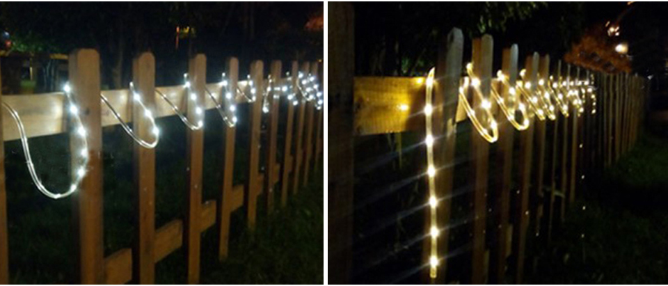 RGB LED Solar strip light (11)