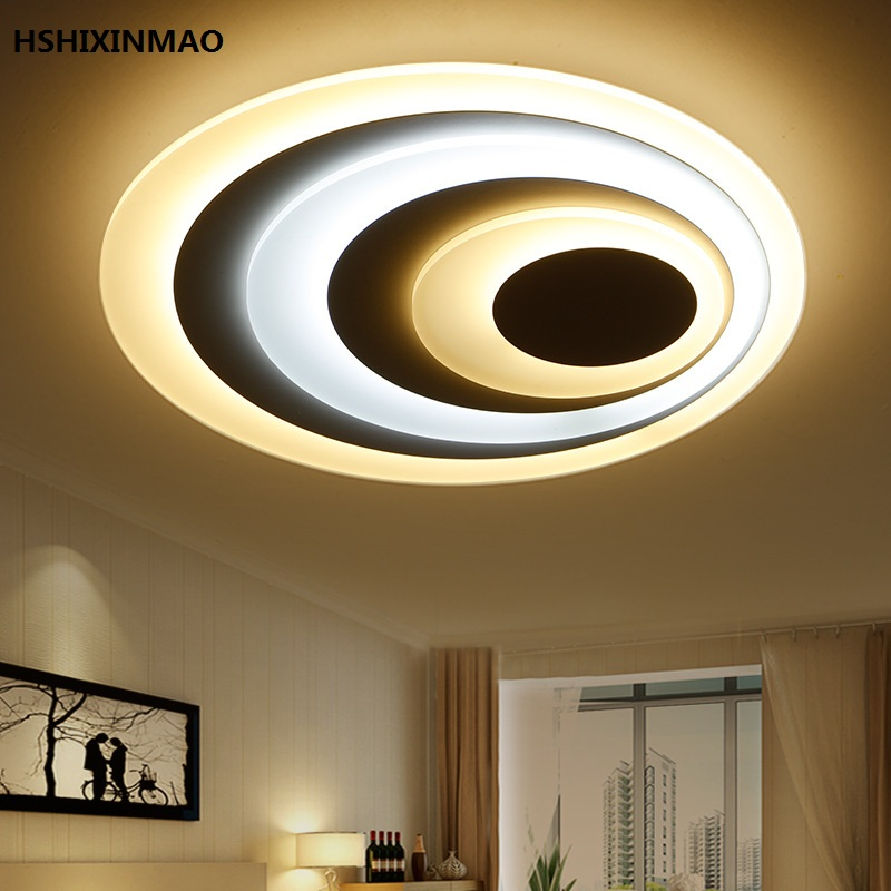 Ceiling Lights & Fans Learned Acrylic Modern Crystal Lamp Led Creative Living Room Simple Modern Circular Household Lamp Decoration Childrens Lamp The Latest Fashion Lights & Lighting