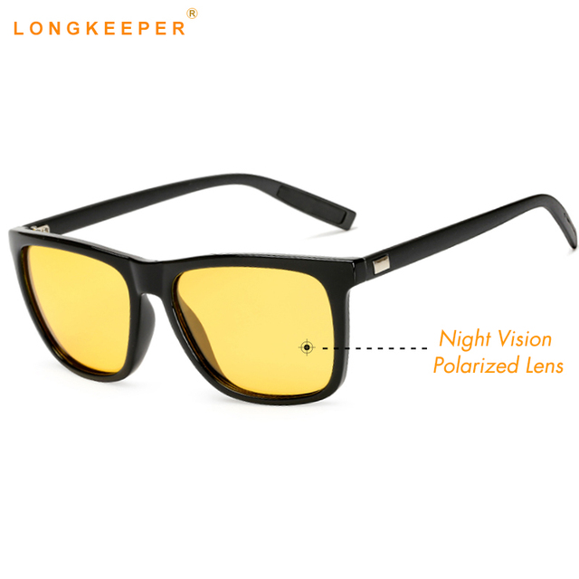 f90303278 الاستقطاب النظارات الشمسية الرجال النساء نظارات الرؤية الليلية نظارات  للقيادة سائق نظارات شمسية UV400 Gafas دي