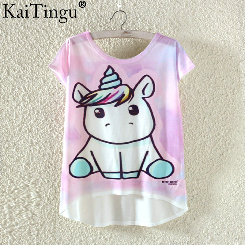 HTB11UpyPXXXXXXfXXXXq6xXFXXXt - Kawaii Cute T Shirt Harajuku High Low Style Cat Print