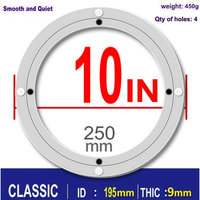 CLASSIC 10 Inch 25cm Aluminum Lazy Susan Swivel Plate Round Turntable Bearings Hardware Accessories