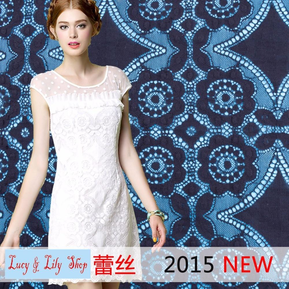 9be8cc89e3 2015 último estilo geométrico kaftan vestidos cordón medio-ligero peso y  suave cordón africano tela del vestido y negro marfil