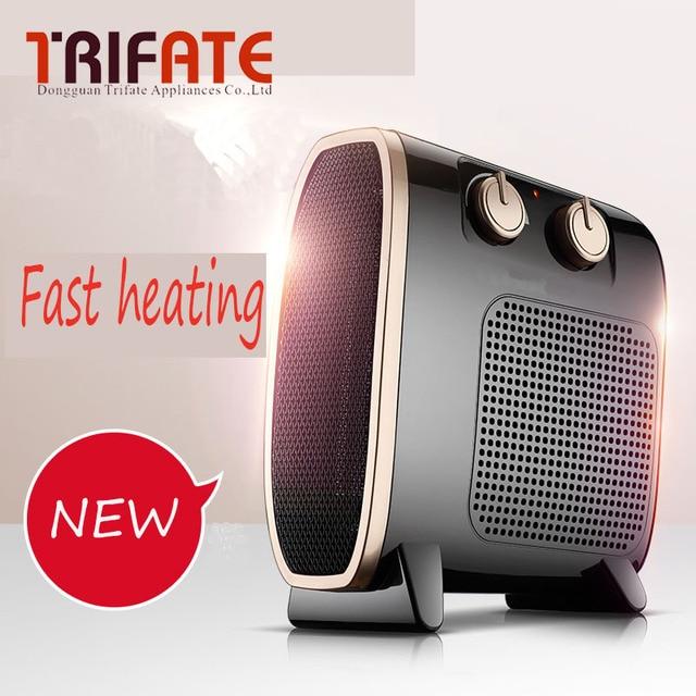 Fashion Black White two color 1500W max power  QGW-150B Warm Winter Mini desktop Fan Heater Home Applicance electric heater