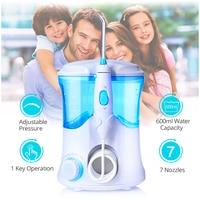 Water Dental Floss Oral Irrigator Teeth Whitening Clean Plaque Gum Massage Remove Oral Odour Family Teeth Cleaner Dental Flosser