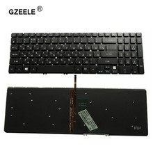 GZEELE backlit laptop keyboard for Acer V5-571G V5-531G V5-571 V5-581 V5-572 V5-573G V5-573 V5-551G 571PG V5-531P 531G RU RUSSIA(China)
