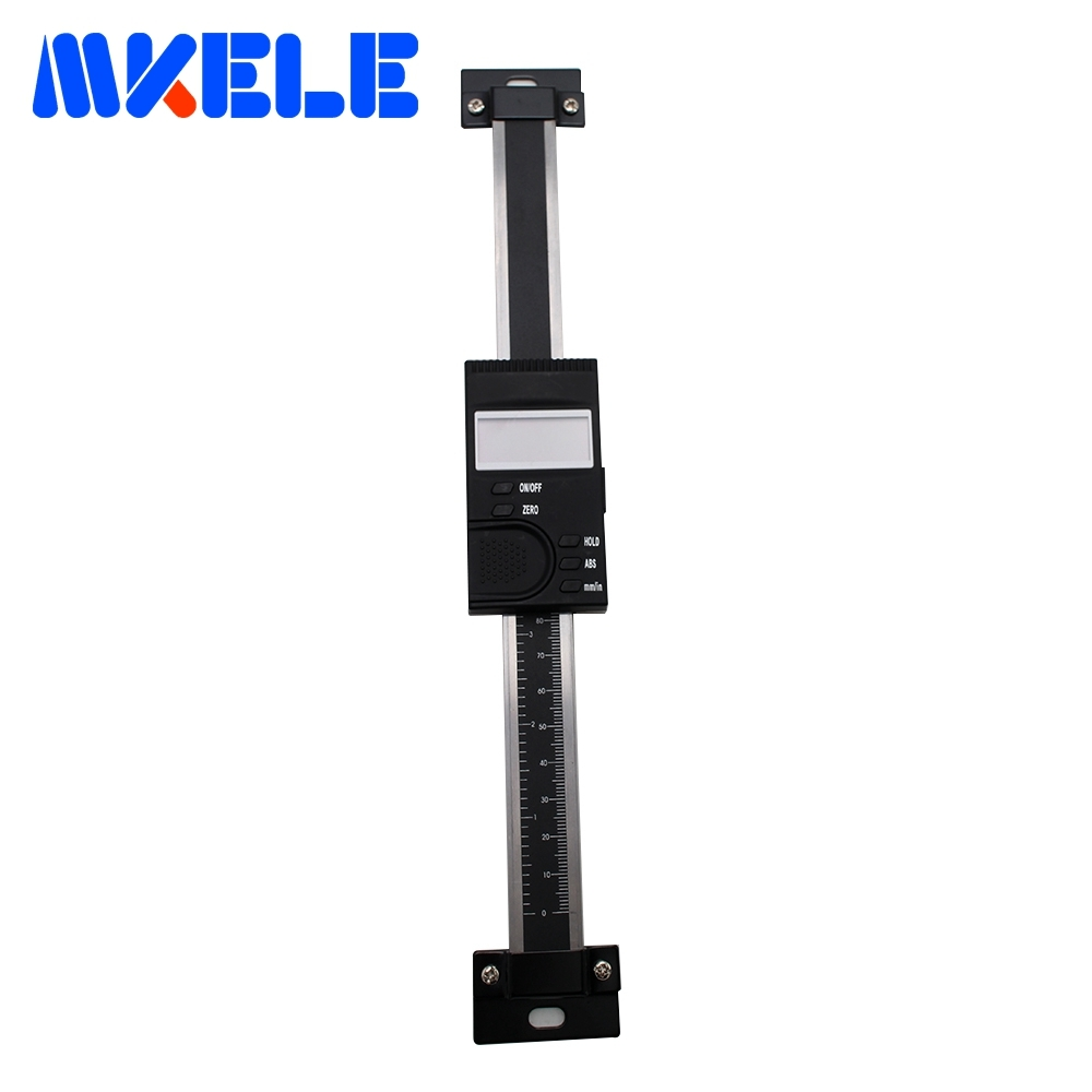 0-150mm Digital Scale Vertical Type Remote Digital Readout Digital Linear Scale Measuring Tool 0.01mm High Accuracy цены