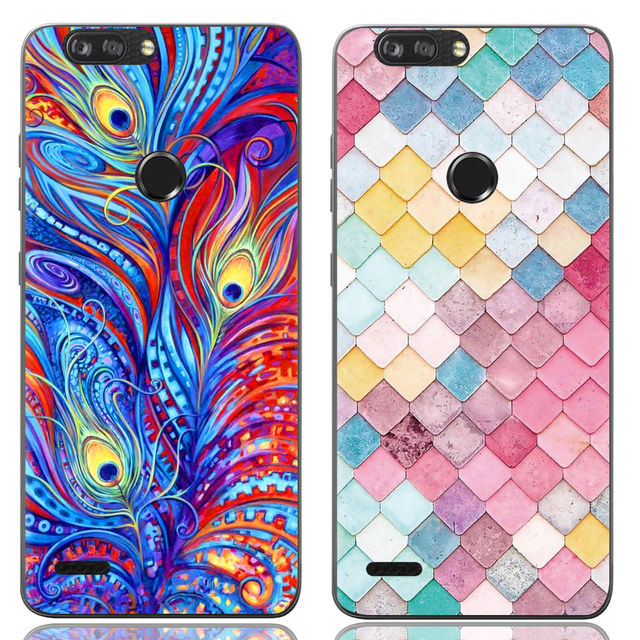 cheap for discount d130c 29fa8 US $1.29 35% OFF|Phone Case For ZTE Blade ZMAX Pro Z982 Z MAX 6 inch  Fashion Design High quality Art Painted Back Cover TPU Soft Silicone-in  Fitted ...