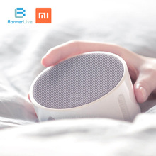 Original Xiaomi Mi Music Alarm Clock Portable Speaker Bluetooth 4.1 360-Hours-Standby Control with Xiaomi APP for Android Phone