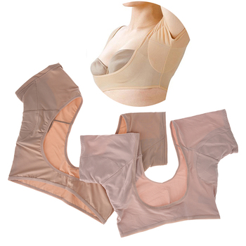 1 Pc Washable T-shirt Shape Sweat Pads Reusable Underarm Armpit Sweat Pads Perfume Absorbing Anti Deodorant Antiperspirant