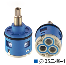 33MM Shower Faucet Spool Third Gear Ceramic / Three-Hole Diversion Mixer