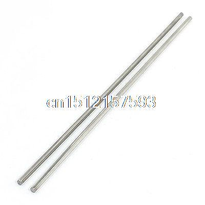 Lathe 200mm x 3mm Stainless Steel Axle Hex Stock Drill Rod Bar 2Pcs stainless steel material aaron wire bar effective coating width 200mm scraping ink bar