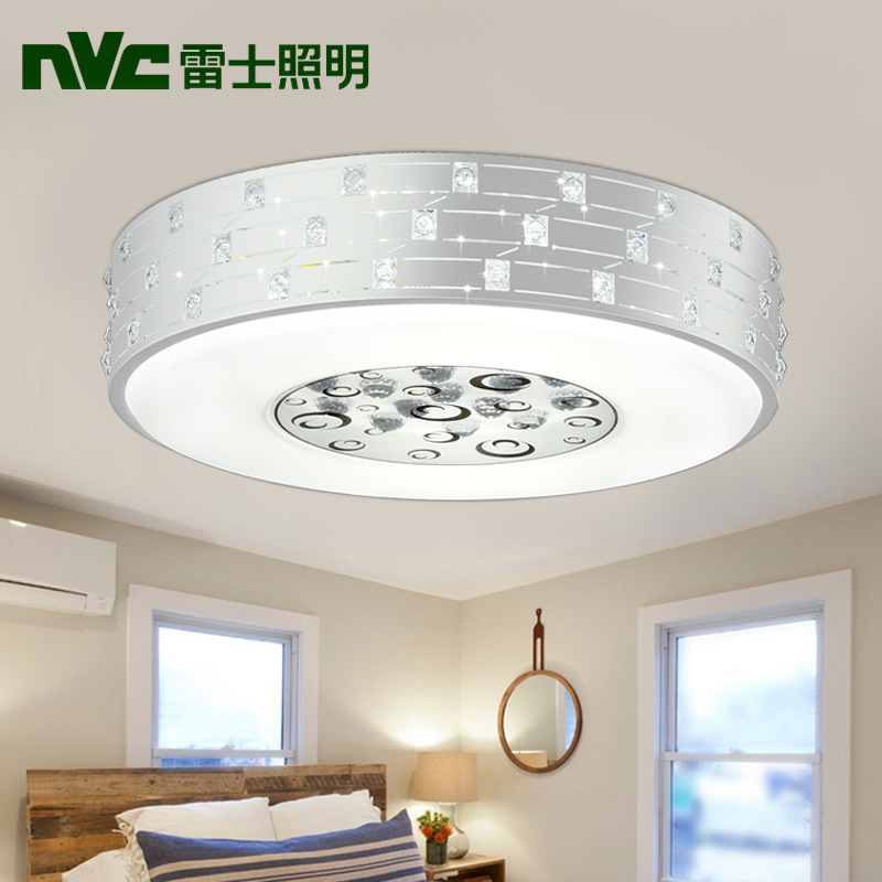 Led Ceiling Lights Bedroom Dining Room Lamp Crystal Lighting Romantic Study