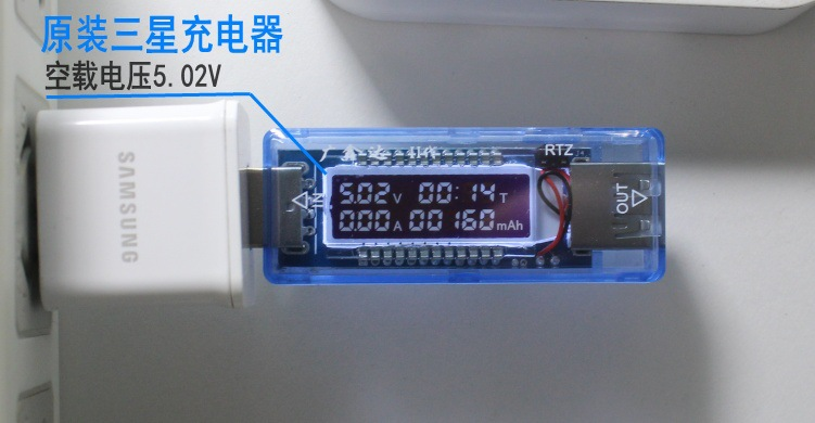 USB Volt Current Voltage Doctor Charger Capacity Tester Meter Power Bank Wholesale
