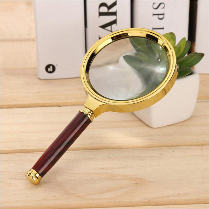 Muou 10x Handheld High Definition Reading Magnifier Glass