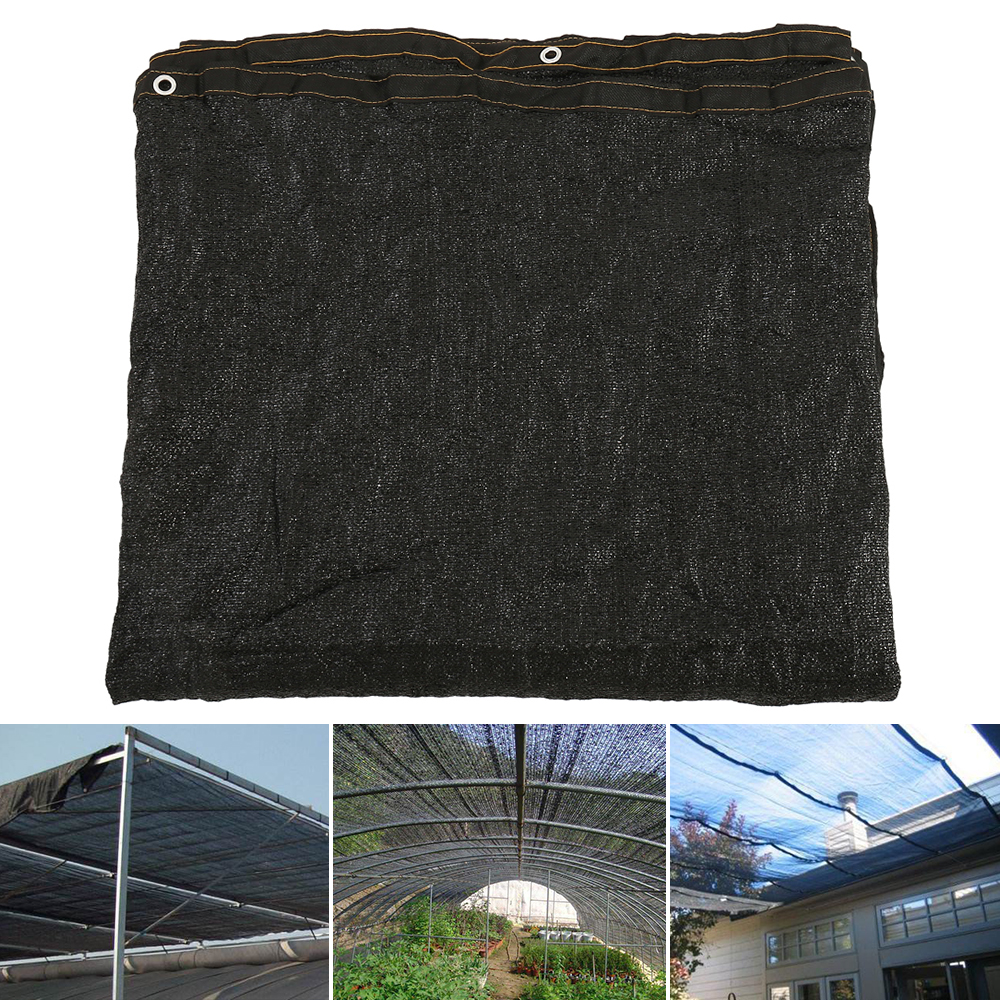 Sunblock Shade Cloth 90/% Grey  with Free Fabric Clips,for Plant Cover