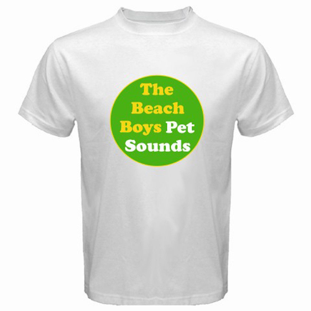 2017 Summer New The Beach Boys Pet Sounds Indie Rock Band Printed T Shirt Cool Summer Tops High Quality Short Sleeve Tee