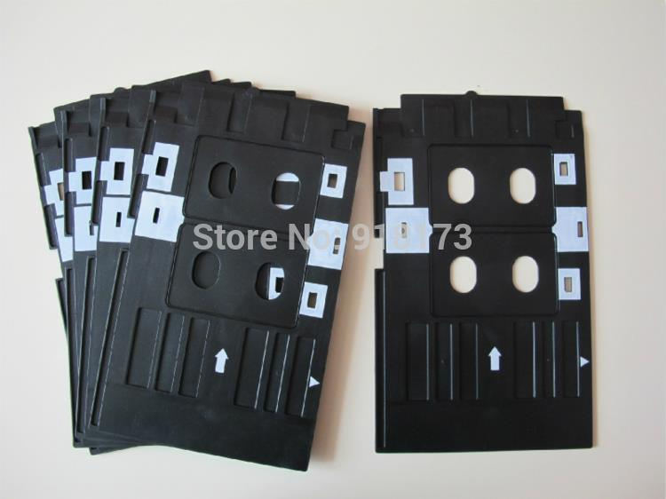 Pvc Id Card Tray Plastic Card Printing Tray For Epson R260 R265 R270 R280 R290 R380 R390 Rx680 T50 T60 A50 P50 L800 L801 R330 High Safety Printer Parts
