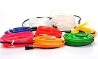 VEELVEE LED Cold Lights Flexible Neon EL Wire For Volkswagen VW Polo Passat B5 B6 CC