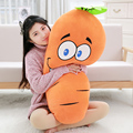 Manufacturers selling Carrot plush toys creative simulation bread pillow queen size sofa Decor 70cm Birthday gift