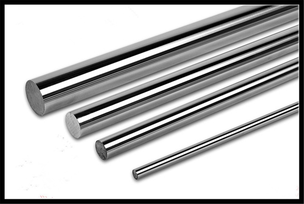 10mm OD Cylinder Linear Rail Linear Shaft Optical Axis Chrome-Plated Hard Shaft Guide Rail 200/300/400/500mm Long10mm OD Cylinder Linear Rail Linear Shaft Optical Axis Chrome-Plated Hard Shaft Guide Rail 200/300/400/500mm Long