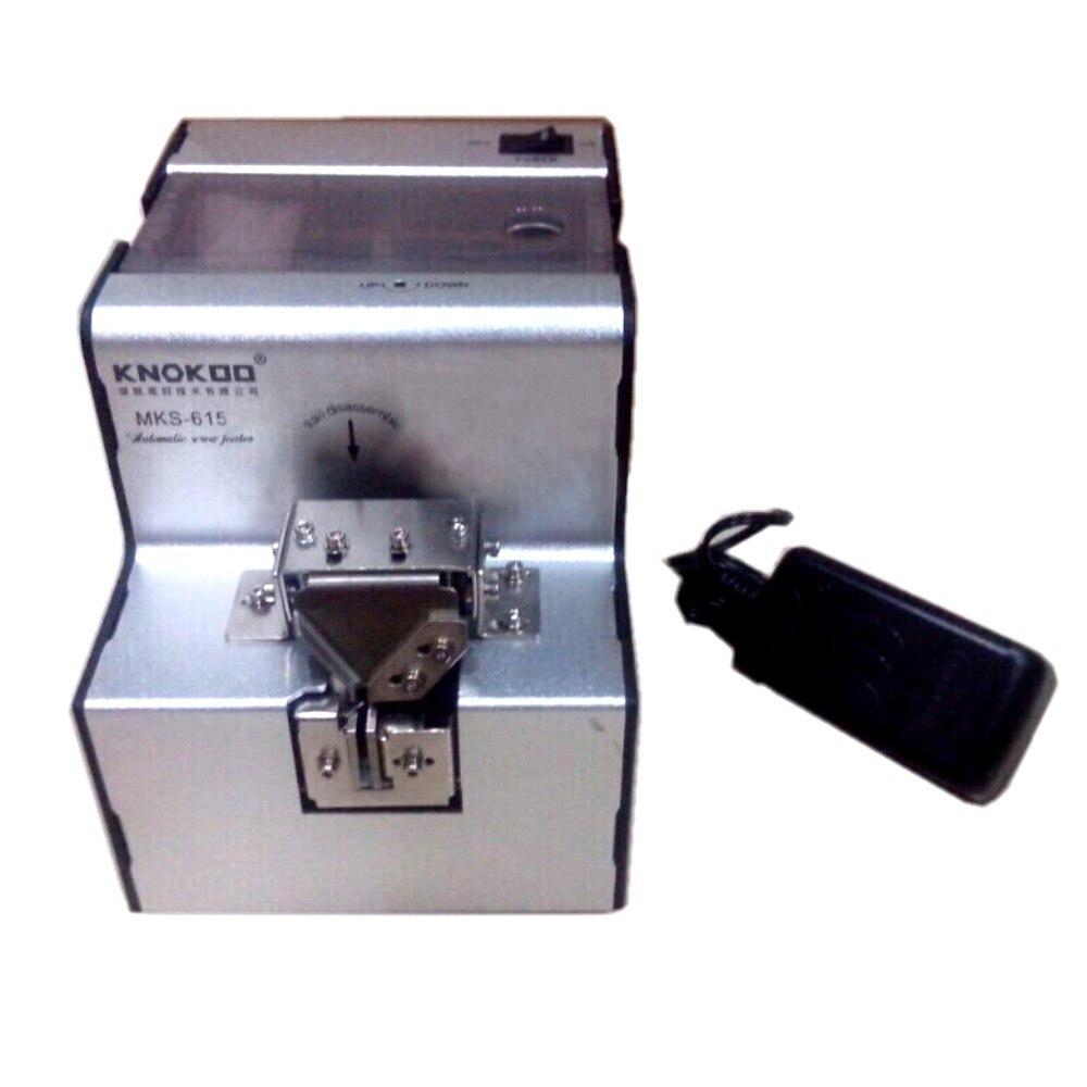 Knokoo MKS615 Automatic screw feeder with adjustable rail, factory wholesale  цены