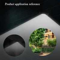 LumiParty 7 LED Solar Sensor Motion Light 300 Lumens Wireless Waterproof Ultra Bright Outdoor Garden Yard