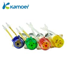 Kamoer KFS Peristaltic Pump 12V/24V BLDC Motor Water Pump with Reduction Gear, Low Flow Rate Water Pump, 4 Color