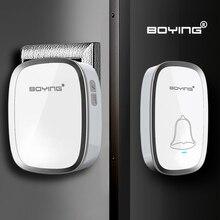 White Waterproof Wireless Doorbell 36 Melody Home Smart Alarm door ring remote control digital door bell