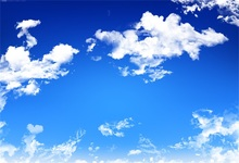 Laeacco Blue Sky White Clouds Scenic Photography Backgrounds Customized Photographic Backdrops For Photo Studio
