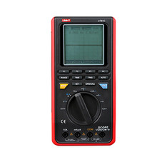 UNI-T UT81C Digitale Multimeter Tester LCD Backlight 16MHz 80MS/s Real-Time Sample Rate USB Interface Scope DMM Multimetro for motorola moto z2 play phone bag case for moto z2 play luxury crocodile skin pu leather protective case cover moto z 2 play