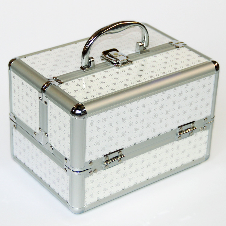 Women Organizer Bag Suitcase Jewelry-Box Storage-Boxes Cute Cosmetic Travel New  title=
