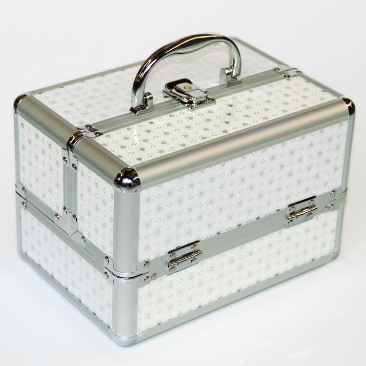 New Make Up Storage Box Cute Cosmetic Makeup Organizer Jewelry Box Women Organizer For Travel Storage Boxes Bag Suitcase