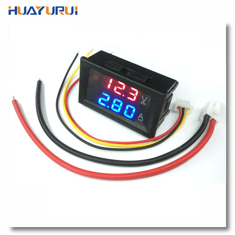 Aliexpress Com   Buy Dc 100v 10a Voltmeter Ammeter Blue