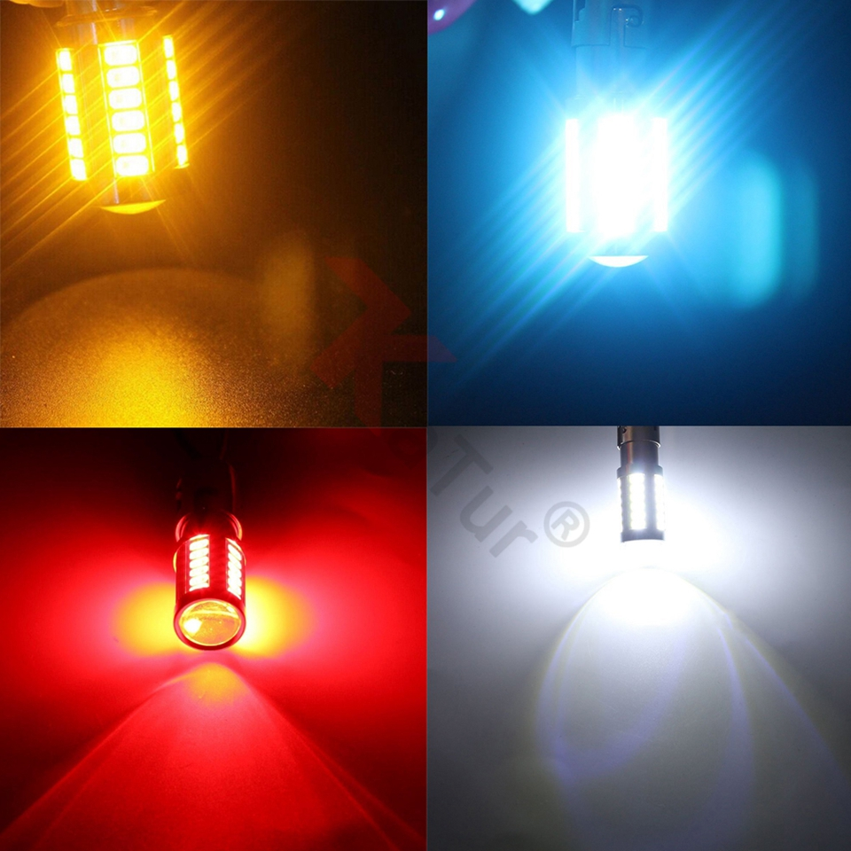 2gab. Super Bright 7443 Led lukturi automašīnām Bremžu - Auto lukturi - Foto 5
