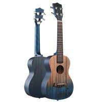 ANDREW 23 Inch Ukulele Concert Ukulele 4 Nylon Strings Mini Guitar Hawaiian Mahogany Stringed Instruments Rosewood fingerboard