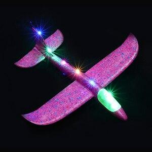 Image 1 - 2019 diy crianças brinquedos mão jogar voando planador aviões espuma avião modelo festa saco enchimentos voando planador avião brinquedos para jogos
